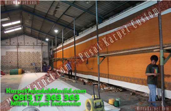 Karpet Masjid Custom Diproduksi Karpet Malang