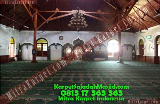 Karpet Masjid Malang Agung Jami yang Lama