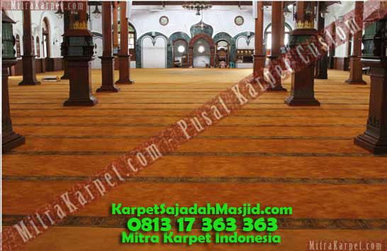 Karpet Masjid Malang Agung Jami
