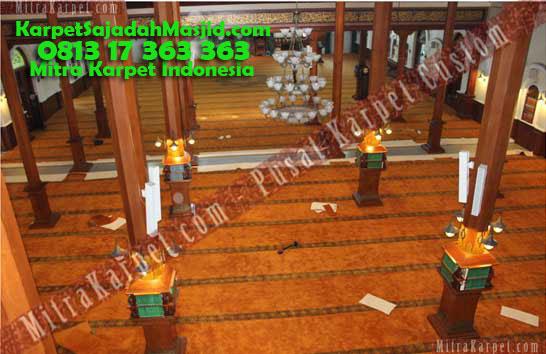 Karpet Masjid Malang Jami Agung Atas