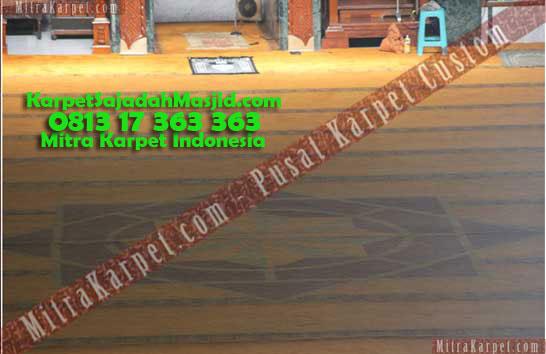 Karpet Masjid Malang Jami Agung Tebal Nyaman