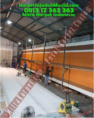 Pabrik Karpet Masjid Karpet Malang