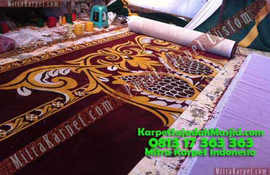Jual Karpet Masjid Custom Bukit Tinggi Birugo