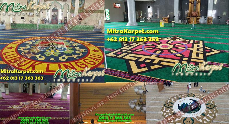 Karpet Masjid Custom