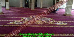 Kenyamanan Karpet Masjid Custom Bukit Tinggi Birugo